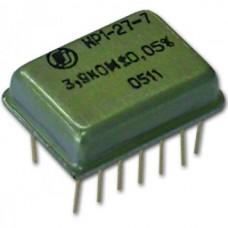 Наборы резисторов для печатного монтажа прецизионные НР1-27-7, НР1-27-6, НР1-27-4