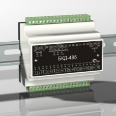 Модуль дискретного 16-канального ввода БКД-485