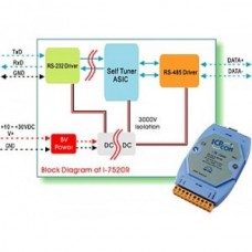 Конвертер RS485/RS232 I-7520
