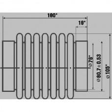 Сильфон газопровода 238 нб.100.80.90