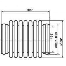 Рукав металлический КС 95.000 по ТУ 4591-058-08629358-2000