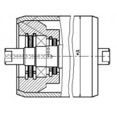 Ролики с защитой подшипникового узла сальниковым войлочным уплотнением