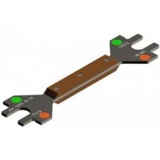 Калибр для проверки подвески центрального подвешивания БВ-7623