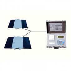 Автомобильные подкладные весы М2 с весоизмерительным модулем