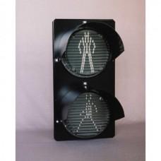 Головка светофорная светодиодная оповестительная пешеходной сигнализации НКМР.676636.010