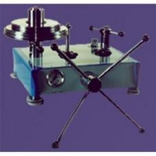 Манометр газовый грузопоршневой МГП-100 класса точности 0,01; 0,02