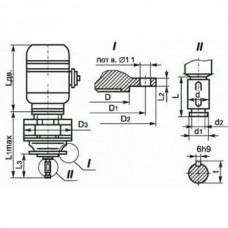 Мотор-редуктор планетарный двухступенчатый МРВ02