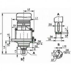Мотор-редуктор планетарный трехступенчатый МР3-500