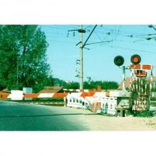 Головка светофорная светодиодная для железнодорожных переездов красного цвета НКМР.676636.003