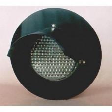 Головка светофорная светодиодная для железнодорожных переездов лунно-белая НКМР.676636.003-01