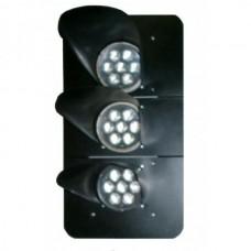 Головка мачтового светофора со светодиодными светооптическими системами (ССС)