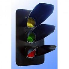 Головка трехзначная светодиодная мачтового светофора