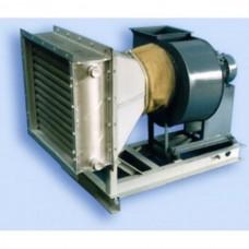 Воздухонагревательная установка типа ВУ