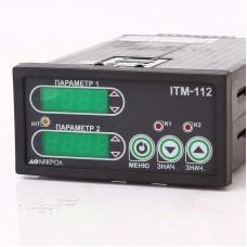 Двухканальный микропроцессорный индикатор ИТМ-112
