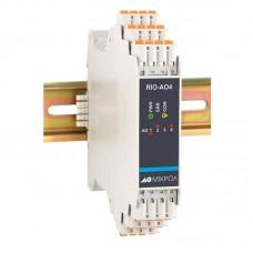 Модуль аналогового вывода RIO-AO4